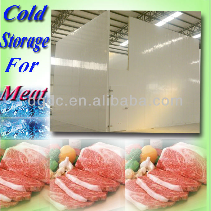 Cold storage meat processing in slaughter house