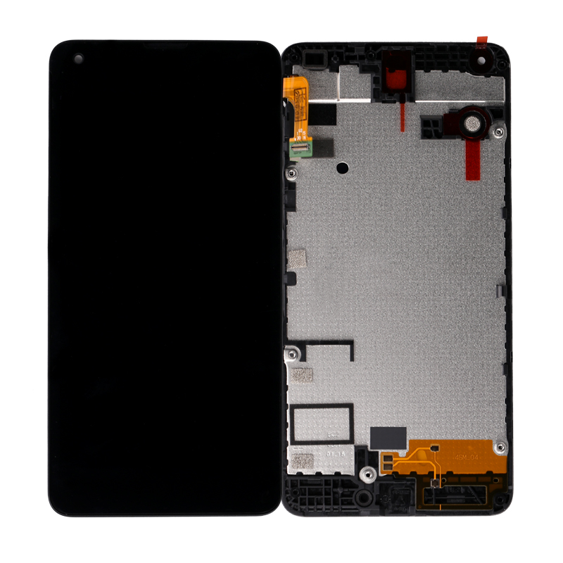 "Replacement Parts 5.0"" Black LCD Touch Screen Digitizer Full Assembly for microsoft for nokia lumia display 550 lcd"