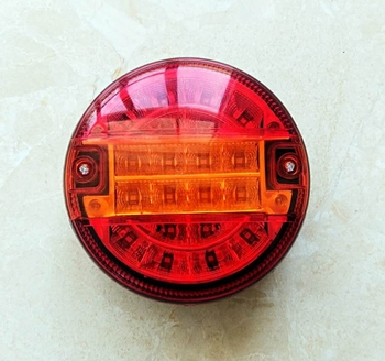 Wholesale led round combination tail light truck tail light