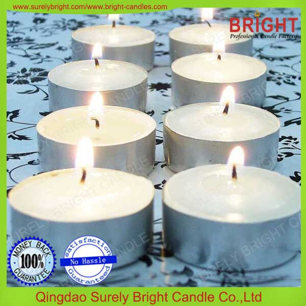 tealight candle white full auto mechine produced pressed promotion heart