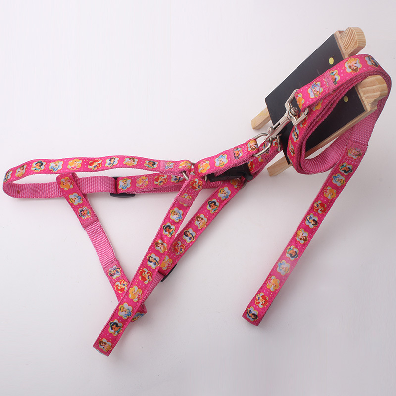 Nylon high-end dog harness with custom woven label