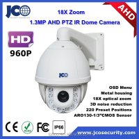 Metal housing 360 degree dome HD 960P camera full hd AHD ptz camera