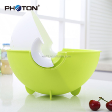 Hot sale plastic food storage filter basket with double-tier