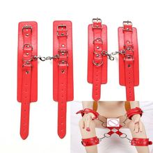 Novelty Female Bondage Restraints Wristcuff Sex Toys for Couple Adult Handcuff