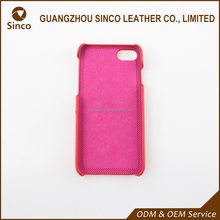 Factory Directly real leather phone case with low price for genuine leather back cover case