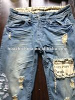 2012 new design Denim pants