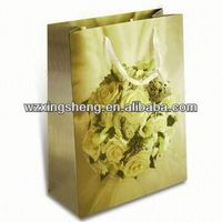 2014 Wholesale!! fashion paper Gift shopping Bags for paper bag for local specialty
