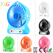 New Arrive portable Cooling Air Table Stand Mini Fan with Rechargeable Battery