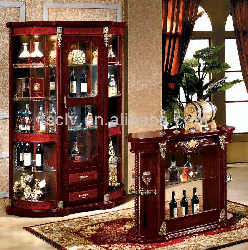 Moderno mobili per la casa barocca Curio cabinet-Armadietto di legno ...