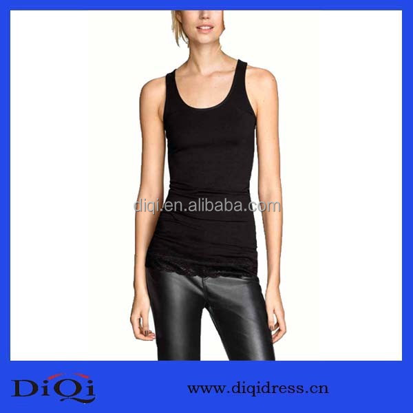China cheap sport apparel,black fashion style women tops, apparel wholesale in bangkok