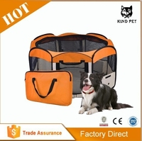 [Kind Pet] Portable Exceicise Fence Kennel Cage Crate
