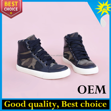 Newest design hot selling camouflage style casual shoes for family