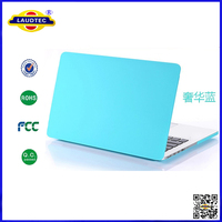 transparent laptop matte case for macbook 13 pro laudtec