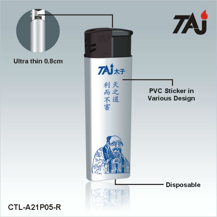TAJ Brand lighter with names electronic cigarettes lighters