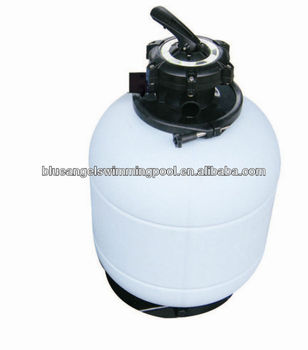 ABS Blow Mold Sand Filter With 5 Way Valve(Top mounted)