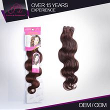 Tangle Free 7A 100% Remy Human Hair Body Wave Supreme Wet And Wavy Indian Remy Hair Weave 2#
