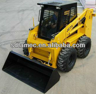 JC75S case skid loader ,china bobcat,engine power 75hp,loading capacity 1050kg