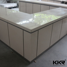 Customized Artificial stone hospital reception desk