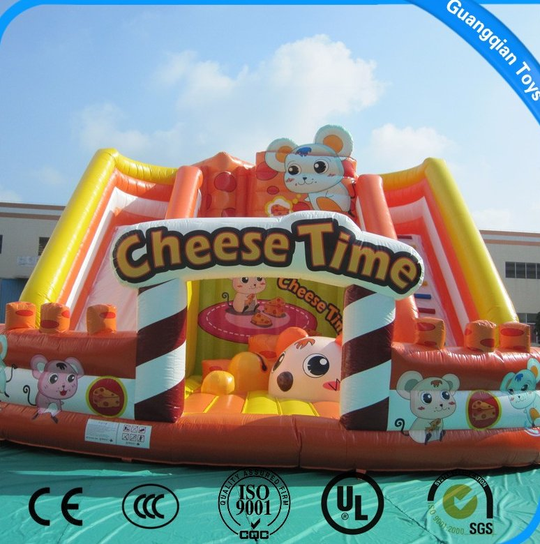 Guangqian Funny Inflatable Bouncy Castle With High Quality For Outdoor Activity