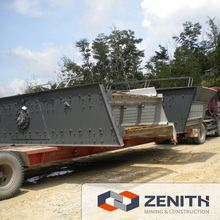 Zenith concrete screening machine, concrete screening machine for sale
