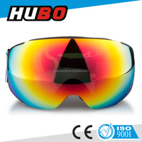 TPU frame glasses polarized lens newest style anti-fog skateboard snow goggles