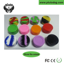 2016 FDA approved food grade non stick small mini slick oil ball silicone wax container silicone jars dab wax vaporizer