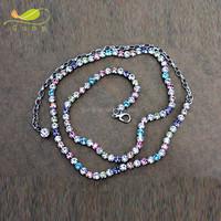 1Row Handmade Crystal Ladies Waist Chain Rhinestone Charm Belt