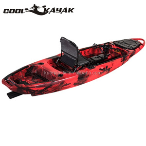 10ft pedal fishing kayak with rudder system