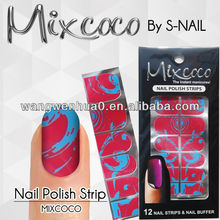 100% real dry nail polish strips nails professional products