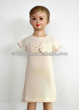 Lovely Children's White Wool Dresses
