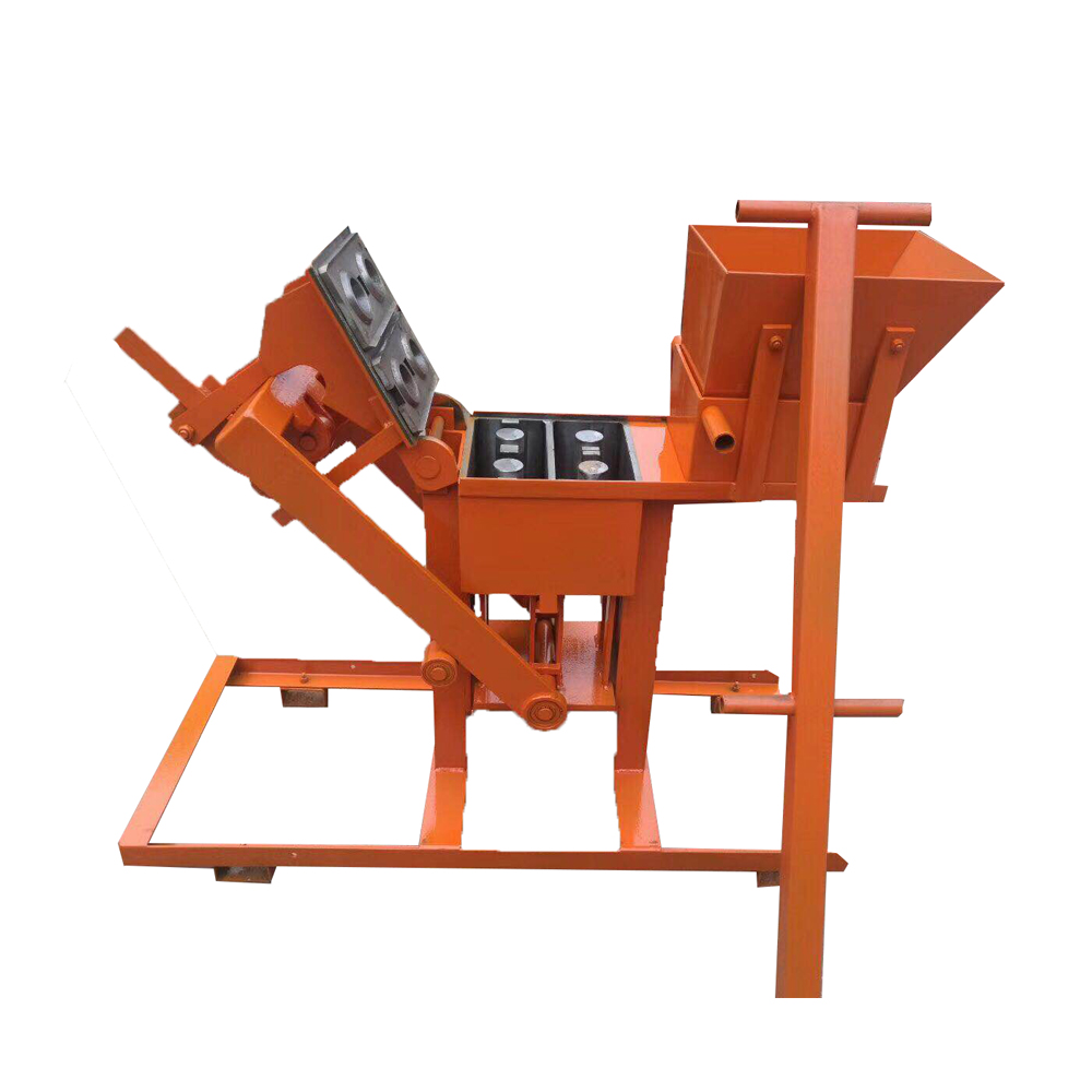 China Brand QMR2-40 Manual Cement Brick Making Machine In Kerala Dubai