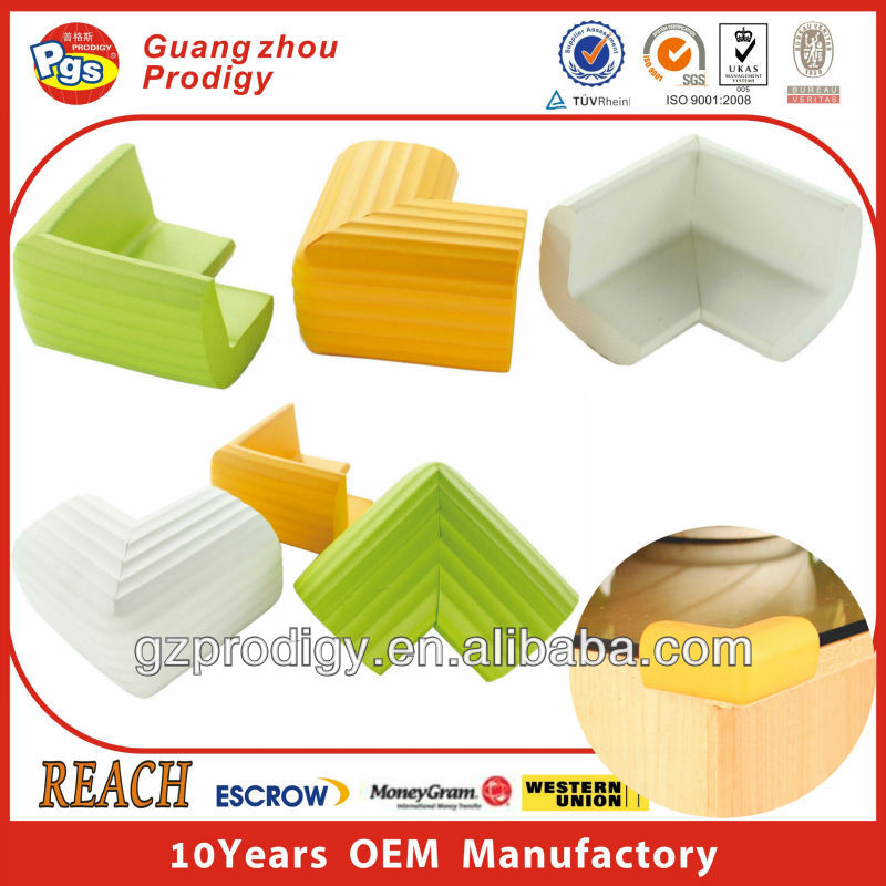 4 pcs Child proofing baby corner protector soft furniture protectors