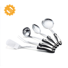 New price of utensils kitchen cooking ware set metal type stainless steel