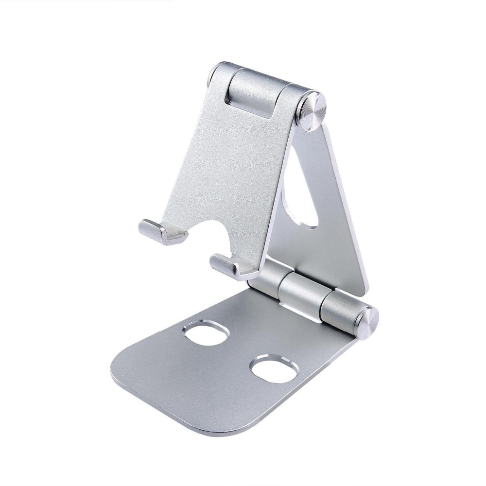 Adjustable Foldable Mobile Phone Stand with Multi-Angle Holder for IPhone IPad Tablet and All Smartphone