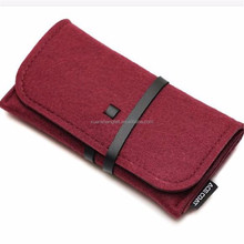Amazon hot selling felt mobile phone case with custom logo