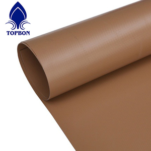 multipurpose customized color PVC tarpaulin fabric waterproof woven coated fabric in roll