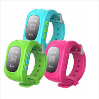Kids gps tracker Q50 children Smart watch phone kids tracking GPS watch with SOS Function