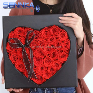 Mother's Day Souvenir Artificial Preserved Flower Rose As Gifts