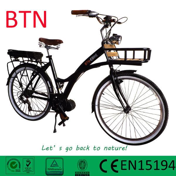 2017 BTN E-post 250W 350W 26inch Electric Bike With Bafang Motor