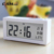 Ganxin 2019 new model multifunction night light wall clock
