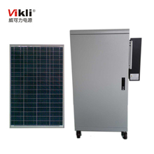 10KW Off-grid home solar power system with 48v 200ah 10kwh rechargable battery
