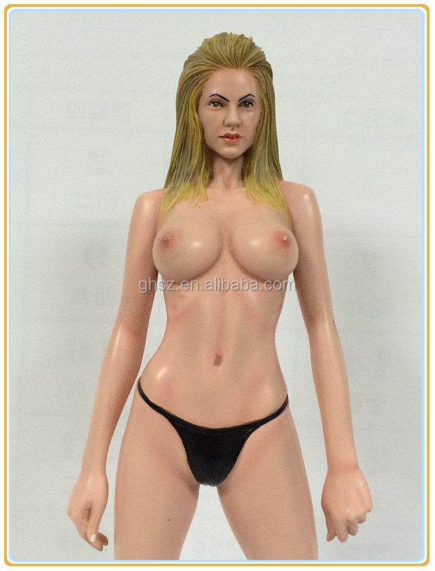 Fashion 1/6 plastic scale model human action figure/adult figurine anime