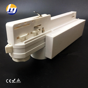 Track Adapter for1 1.5 2 3Metres 4 pin Track Light Track Rail System