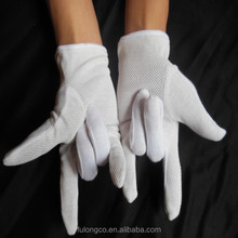 Eczema waiter cotton dress parade band gloves