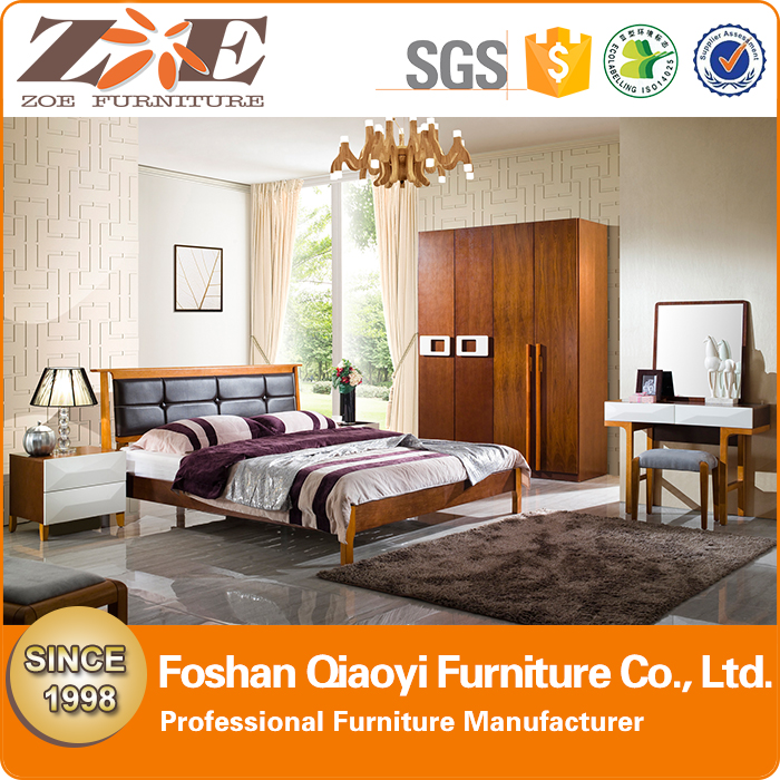 Malaysia Rubber wood bed furniture