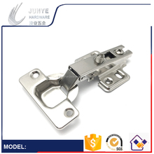 2017 Hot Sale!Graeat Performance Two Way Cabinet HInge 35mm Without Clip On Iron Nickle Plated Hinge Soft Closing Hardware