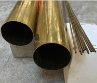 Copper pipes/tubes/piping, made of Cu-DHP, brass copper pipe
