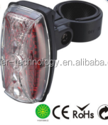 5 red LED BICYCLE FRONT LIGHT LED LIGHT Color:red+white