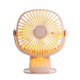 New product cheap mini clip usb table fan with night light