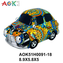 Factory Supply Statue Polyresin Gifts Car Model